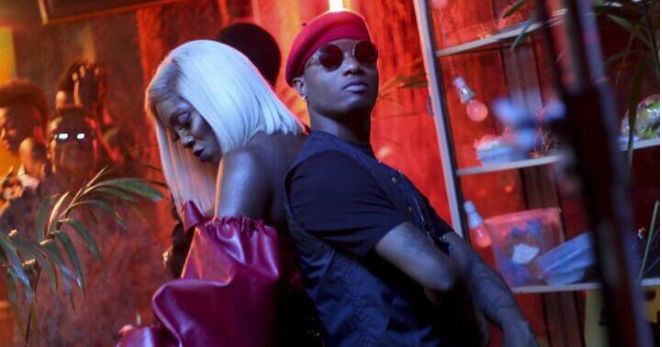 Wizkid, has shared more bts photos from Tiwa Savage's new video Ma Lo, which he was featured, on his IG page. More below: