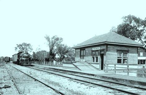 ST-EUSTACHE, Québec - Gare de St Eustache Québec , en 1915