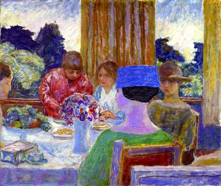 The Cherry Tart, 1908 - Pierre Bonnard