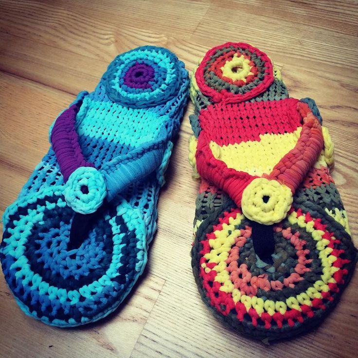#crazy #crochet #challenge #dyi #justabag #slowdesign #slowfashion #recycled #made from #cut #pantyhose #waste #madeinpoland