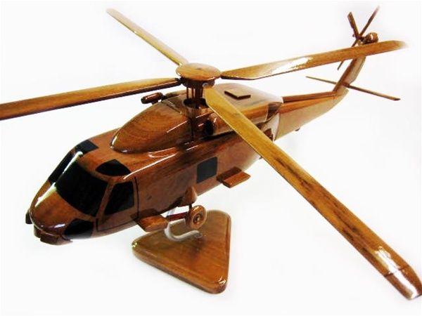 Sh 60 Sea Hawk Helicopter Premium Wood Designs