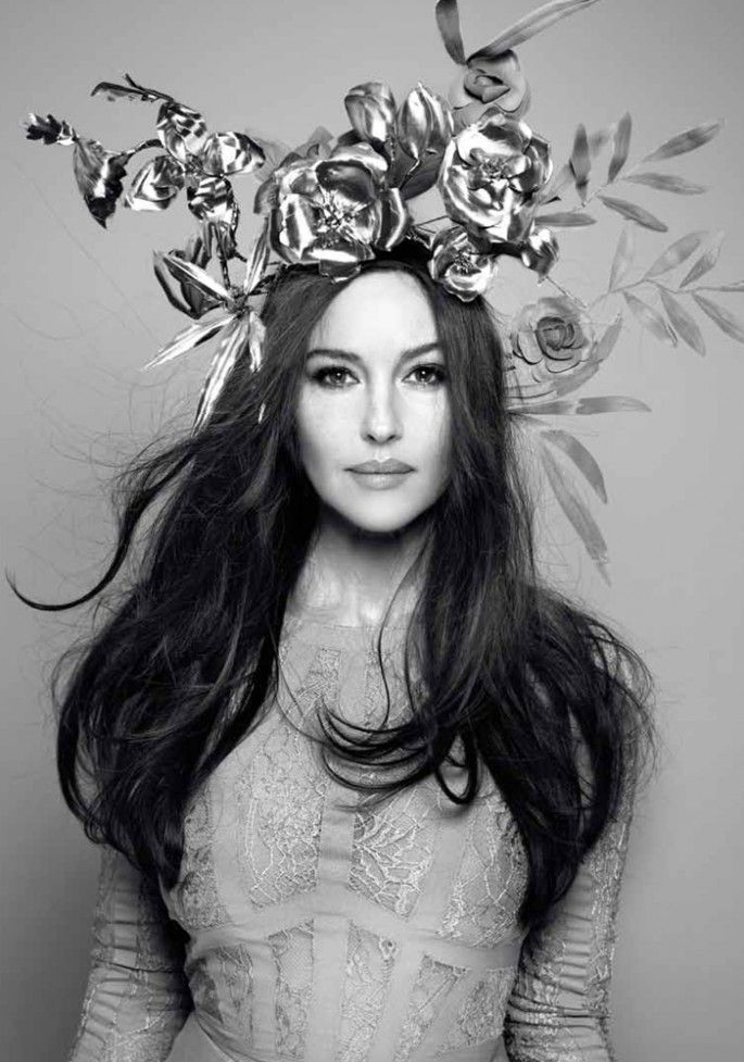 Monica Bellucci | Photography by John Rankin | For The Hunger Magazine | Spring 2012