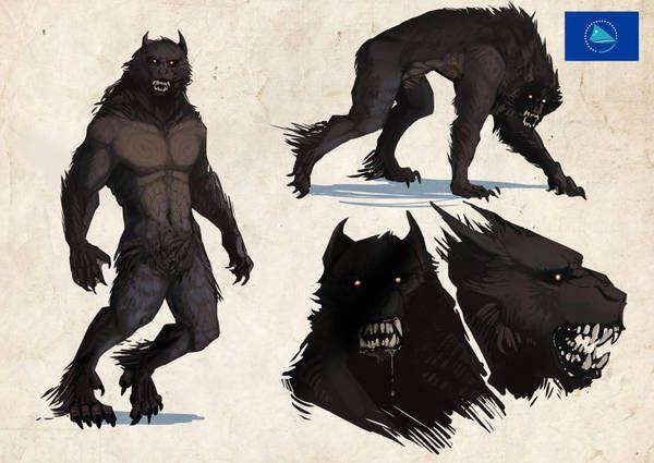 Pin by damien hoarau on Werewolf | Lycanthrope, Furry art