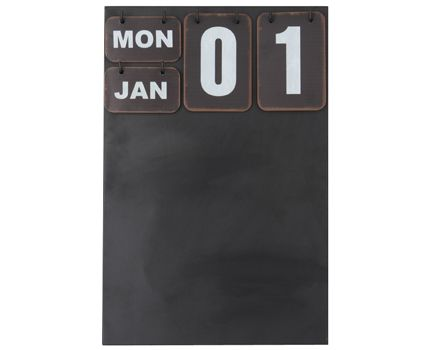 Blackboard calendar available at Browsers Furniture Co., Limerick, Ireland. www.browsers.ie.