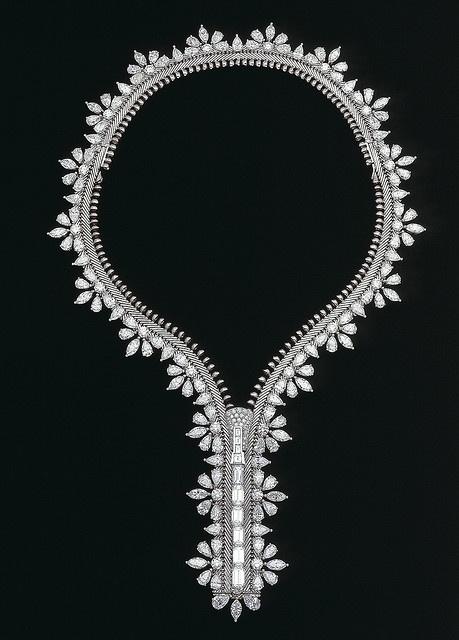 Van Cleef & Arpels - Champs de mars zip necklace by Van Cleef & Arpels, via Flickr