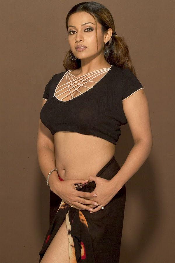 Telugu Actress Asha Shaini Deep Navel Show In Bikini HD Gallery 1