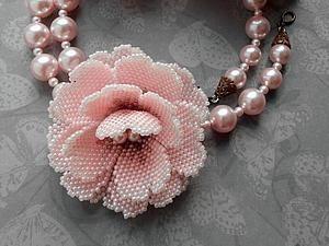 Как сделать маленький цветок из бисера | Ярмарка Мастеров - ручная работа, handmade