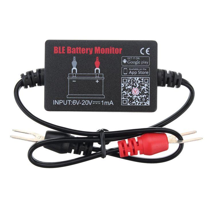 12V Coche Batería Minitor Tester BM2 Bluetooth 4.0 Dispositivo para vehículo 6V-20V