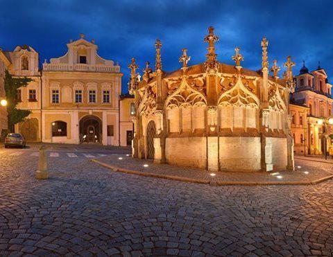 Kutná Hora - cortile Italiano