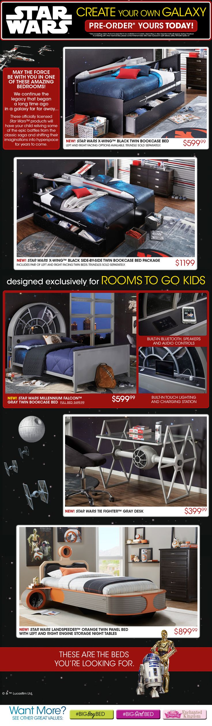Kids Bedroom Furniture Packages