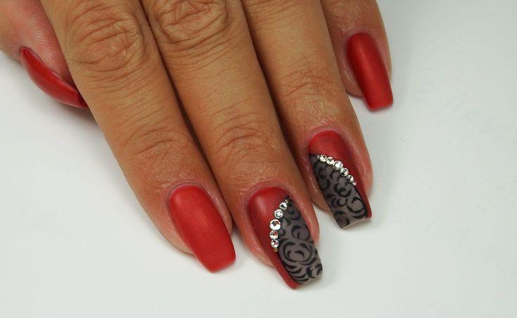 lakier hybrydowy A410 #hybryda #nails #stylizacje #lakier hybrydowy #tipsy