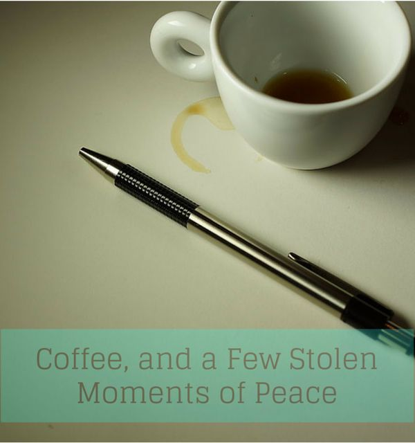 Coffee & Peace belong together