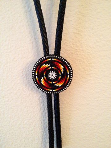 Beaded Bolo Tie by Thomas Harvey