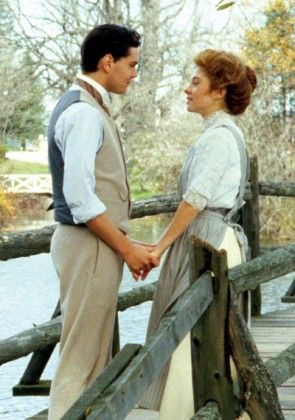 Gilbert & Anne on the Bridge