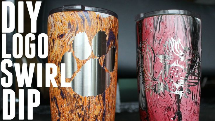 Diy How To Vinyl Logo Swirl Spray Paint Job Yeti Ozark
