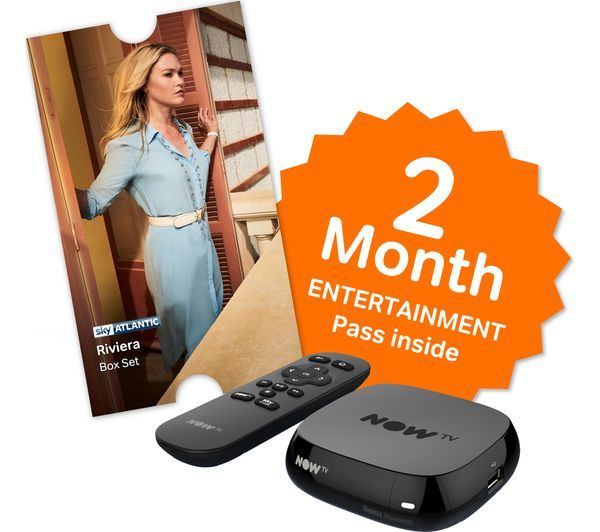 NTVVBE2SS - NOW TV Box with 2 month Entertainment Pass & Sky Store Voucher - Currys PC World Business