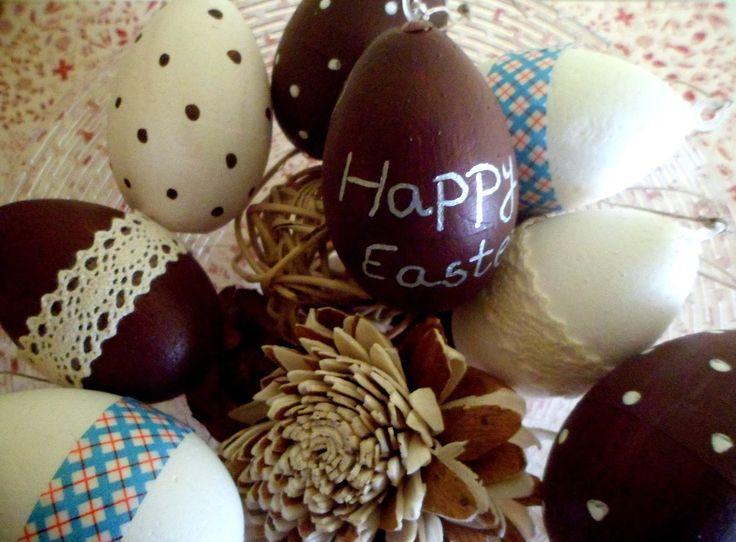 Húsvéti tojások polisztirolból