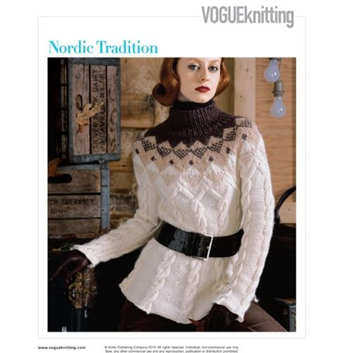 360 best Vogue Knitting images on Pinterest | Knitting, Blouse and ...