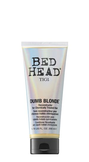 Bed Head by TIGI | Products | Wash And Care | Colour Care | NEW Dumb Blonde Reconstructor