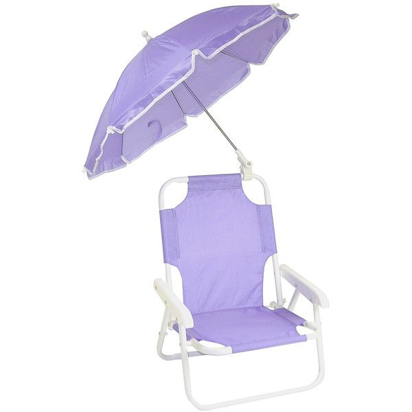 Redmon Purple Small Beach Baby Umbrella Chair (225.880 IDR) ❤ liked on Polyvore featuring home, children's room and children's furniture