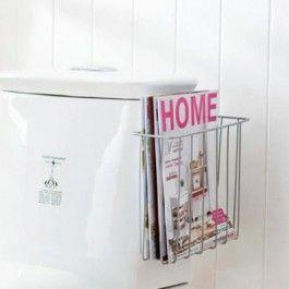 Porte revues pour WC