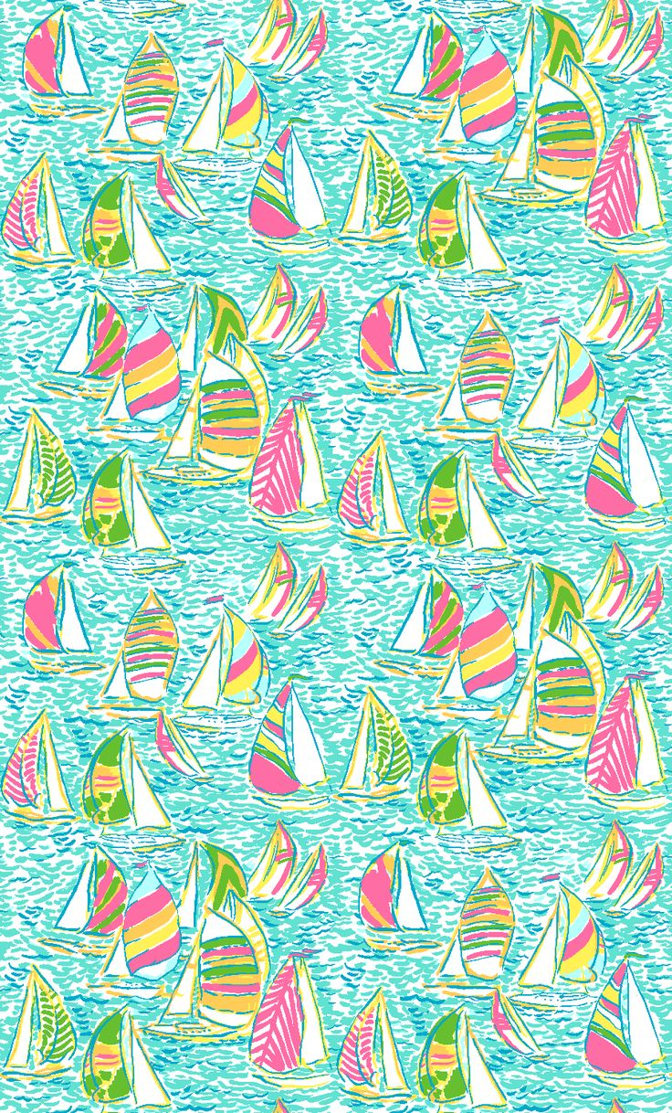 lilly print you gotta regatta (good for painting)