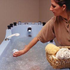 banho relaxante caseiro seu spa em casa