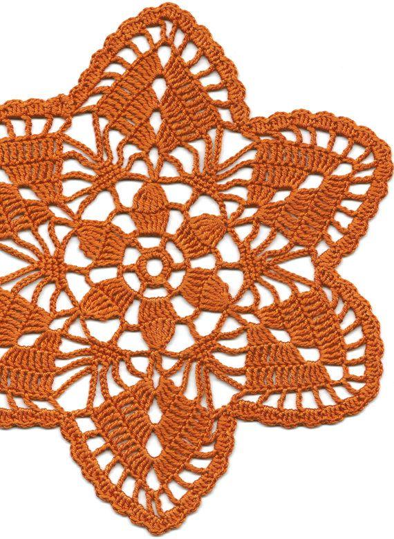 Crochet doily, via Etsy
