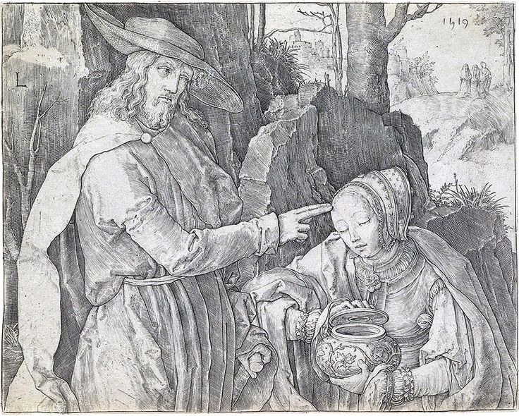 Christ Appearing to St Mary Magdalen as a Gardener (1519)