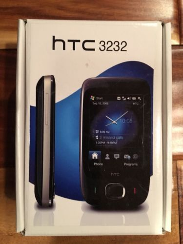 HTC Touch T3232 3G 3.15MP Camera Windows Unlocked Mobile Phone in Black A