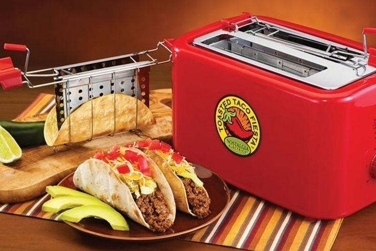 Make Every Night Taco Night With This Baked Taco Shell Toaster