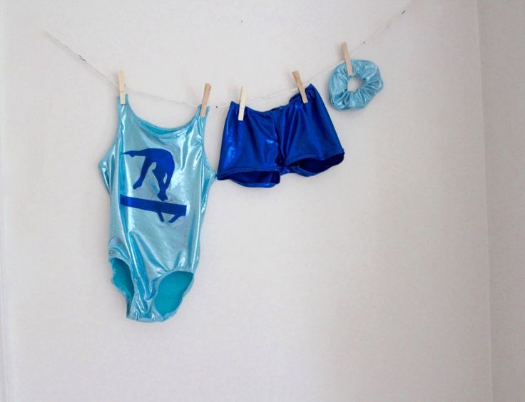 Girls Gymnastics Leotard in Blues with Backhandspring on Beam 2t, 3t, 4t, 5t, 6,7, 8, 9, 10, 11, 12, 13, 14 by SweetHomeBoutique on Etsy https://www.etsy.com/listing/236018124/girls-gymnastics-leotard-in-blues-with