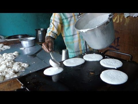 Dosa - Rice pancakes - authentic Indian video recipe from a street restaurant and a village in India (source: my personnal food and travel blog / vlog with recipes, authentic video recipes, street food, food and travel documentary, travel info and more. Welcome! :) )