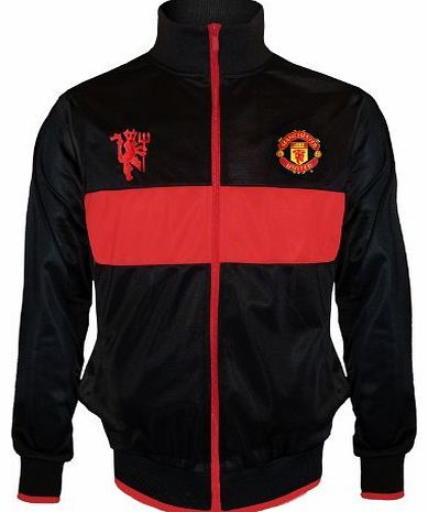 Manchester United F.C. Manchester United FC Official Football Gift Boys Retro Track Jacket 12-13 XLB No description (Barcode EAN = 5053223094306). http://www.comparestoreprices.co.uk/boys-clothing/manchester-united-f-c-manchester-united-fc-official-football-gift-boys-retro-track-jacket-12-13-xlb.asp