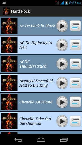 Hard Rock ringtones app is useful for Hard Rock's songs lover .<br>Hard Rock ringtones Help you to set your favorite star songs as a ringtone, alarm , notification sound, or save in SD card just in single click.<p>Features of the App :-<p>• The highest quality music themes in Mp3 format<br>• Save any song as a default ringtones.<br>• Save any songas a call, notification alert or alarm sound<br>• Works offline - no internet connection required after you download once.<br>• Easy to use - easy…
