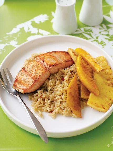 Pineapple-Mango Salmon | Parenting