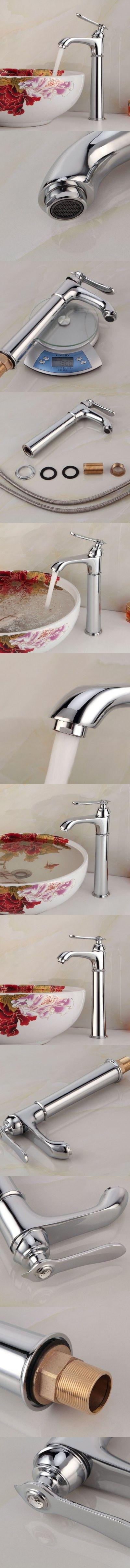 Bathroom   Lidanda Gaosi Bathroom Brass Basin Mixer Tap Water Faucet with Single Port $50.96