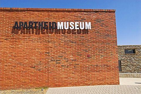 Apartheid Museum, Ormonde, Johannesburg, South Africa, Africa
