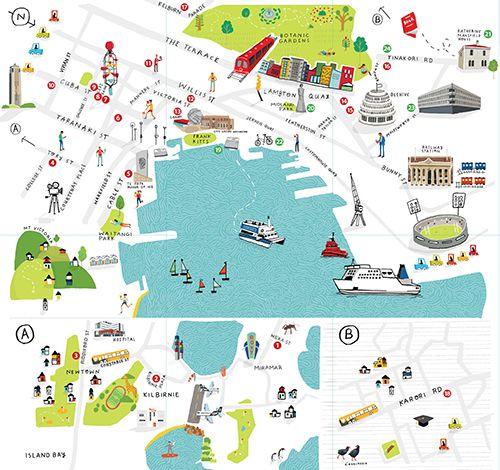 Map of Literary Wellington