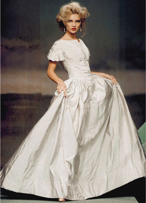 Kate Moss at Vivienne Westwood | WHITE & MORE... | Pinterest ...