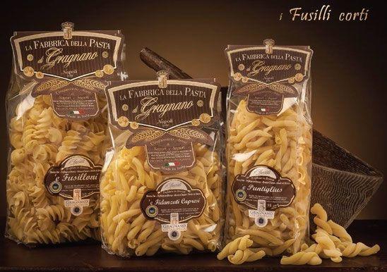 Fusilli corti - La Fabbrica della Pasta di Gragnano