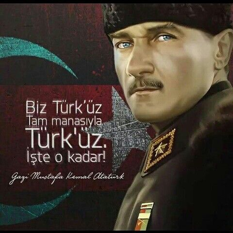 Mavi gözlerini gören gökyüzü kıskanır ATA'M. Gazi Mustafa Kemal Atatürk
