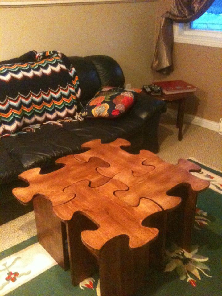 Jigsaw Puzzle Table! | Do It Yourself Home Projects From Ana White