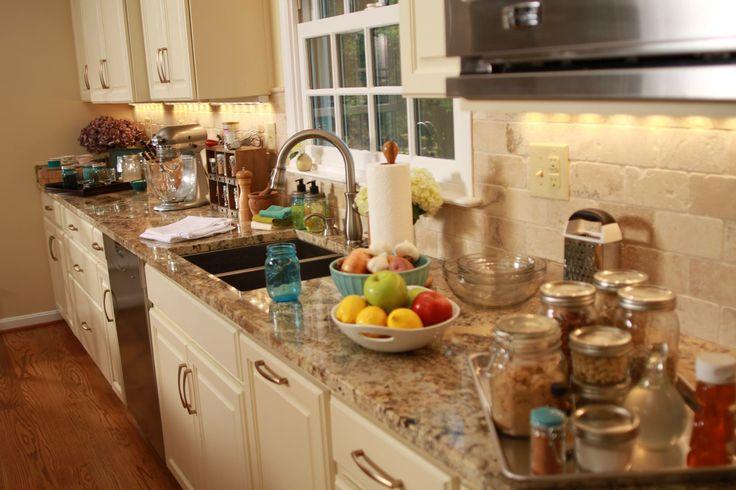 Dream kitchen cream cabinets tile backsplash and for Dream kitchen appliances