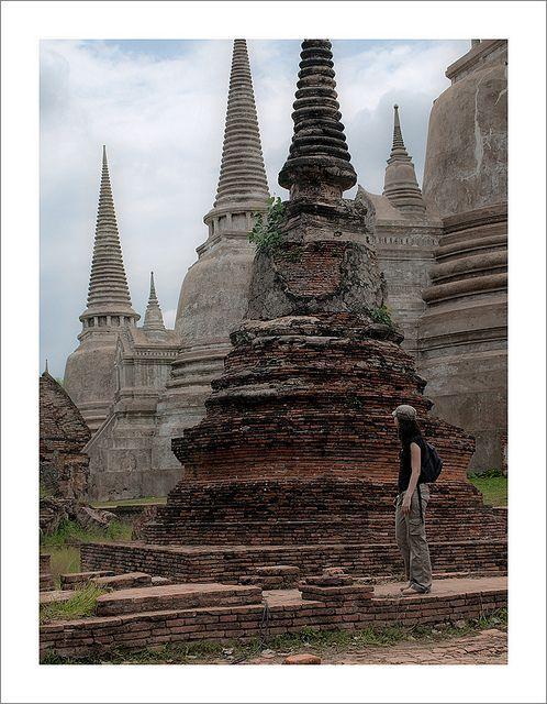 Campanas al cielo, Phra Nakhon Si Ayutthaya, Thailand