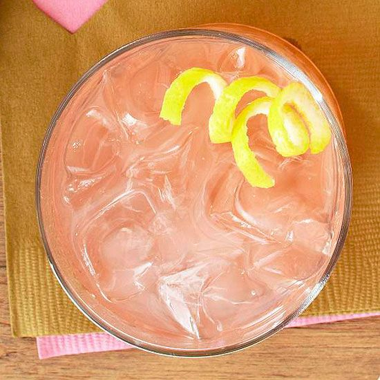 Love Potion #5: Blushing Lemonade - Mix 2 parts each pink lemonade and vodka with a splash of limoncello and simple syrup to taste.