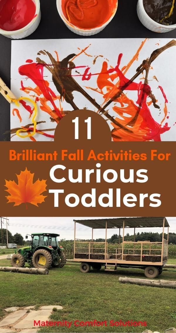 11 Brilliant Fall Activities For Curious Toddlers