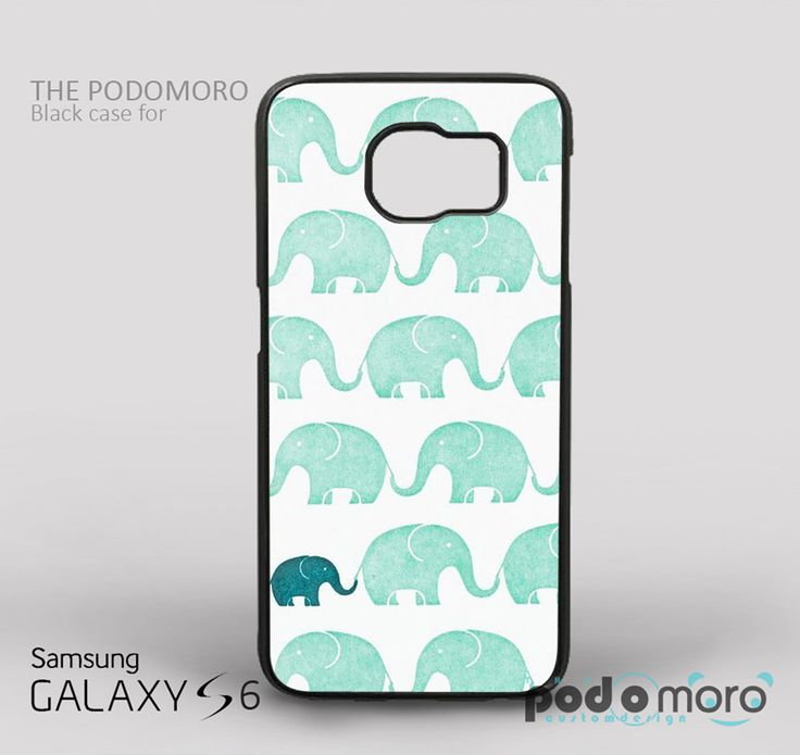 Cute Little Green Elephant for iPhone 4/4S, iPhone 5/5S, iPhone 5c, iPhone 6, iPhone 6 Plus, iPod 4, iPod 5, Samsung Galaxy S3, Galaxy S4, Galaxy S5, Galaxy S6, Samsung Galaxy Note 3, Galaxy Note 4, Phone Case