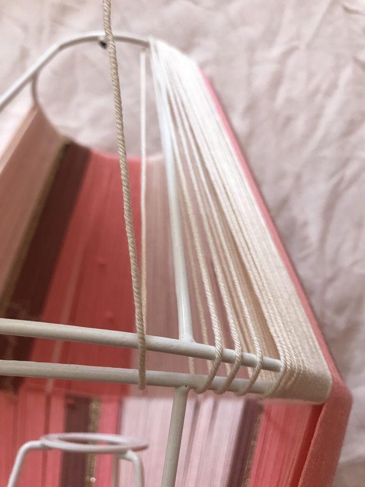 DIY : comment fabriquer une lampe en fil de coton