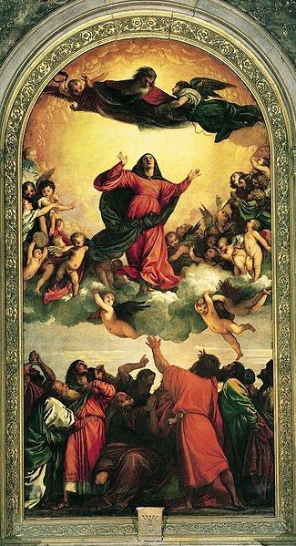 Titian - The Assumption of the Virgin